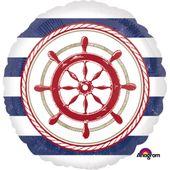 Fólia léggömb tengerész parti