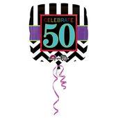 """Fólia léggömb születésnap  """"50"""""""