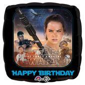 Fólia léggömb Star Wars Happy Birthday