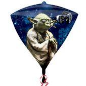 Fólia léggömb Star Wars Yoda - gyémánt