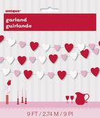 Girland szívecskés