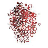Szív konfetti