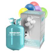 Hélium palack 50 + lufik