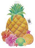Kartondekoráció ananász