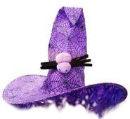 Halloween kalap lila