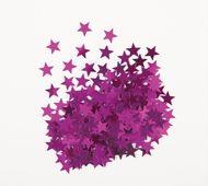 Konfetti Star rózsaszín