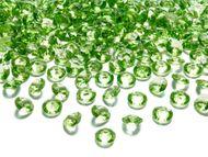 Kristály gyémánt világoszöld