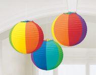 Lampion rainbow