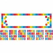 Mega banner saját felirattal Birthday Rainbow