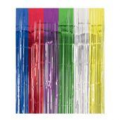 Többszínűi metál hatású függöny