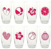 Matricák poharakra