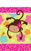 Asztalterítő Majmocskás parti
