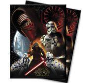 Műanyag asztalterítő Star wars Force Awakens