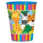 Műanyag pohár Jungle Animals