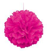 Pom pom gömb neon rózsaszín