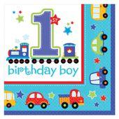 Szalvéta 1. születésnap B-Day Boy