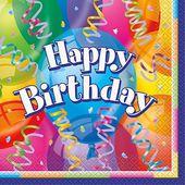 Szalvéta Brilliant Birthday