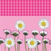 Szalvéta Daisy rózsaszínű