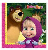 Szalvéta Mása és a medve