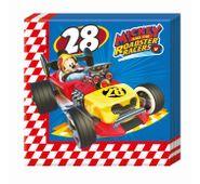 Szalvéta Mickey és az autóversenyzők