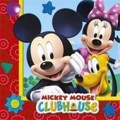 Szalvéta Mickey Club House