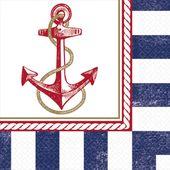 Szalvéta tengerész parti