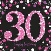 Szalvéta Pink Diamonds 30