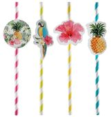 Szívószál Tropical