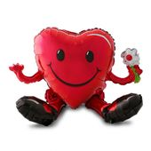 Smiley heart 3D
