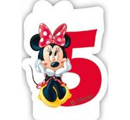 Gyertya 5 Minnie