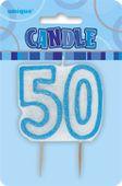 Gyertya 50 kék