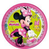 Tányér Minnie Happy Helpers