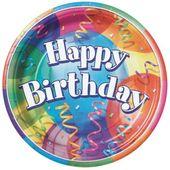 Tányér Brilliant Birthday