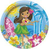 Tányér Hawaii