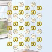 Függődekoráció 50 Happy Years
