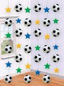 Függődekoráció foci