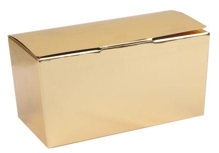 Csokoládé doboz arany 250 g - 5 db