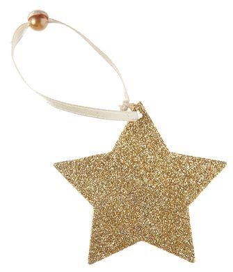 Akasztható dísz arany Csillag