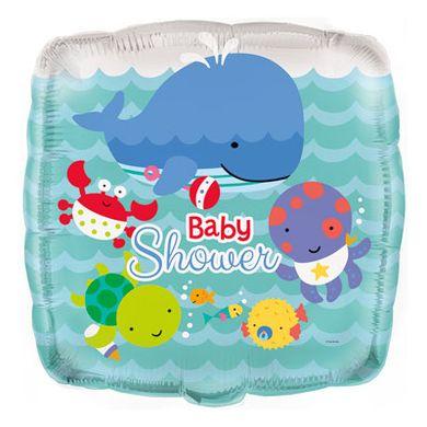 Fólia léggömb Baby shower Tenger alatt