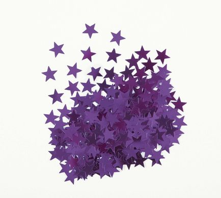 Konfetti Star lila