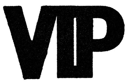 Nagyméretű konfetti VIP fekete