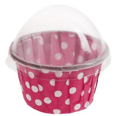 Cupcake kosárkák - rózsaszín