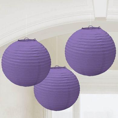 Lampionok lila színben