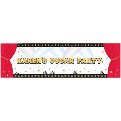 Mega banner saját felirattal Hollywood