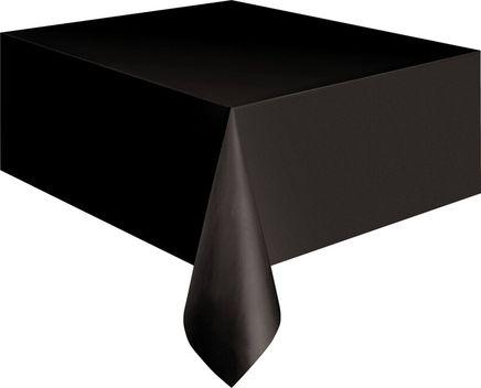 Asztalterítő műanyag fekete