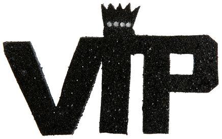 Dekoráció betűkből VIP
