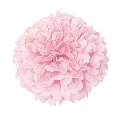 Pom pom gömb baby pink