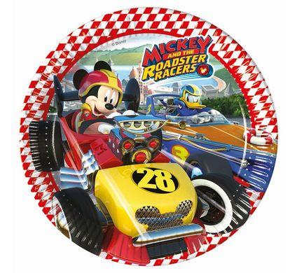Tányér Mickey és az autóversenyzők